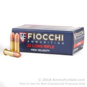 500  Rounds of 40gr CPRN .22 LR Ammo by Fiocchi