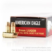 1000 Rounds of 147gr FMJ 9mm Ammo by Federal