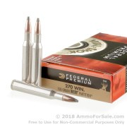 20 Rounds of 150gr Partition .270 Win Ammo by Federal Vital-Shok