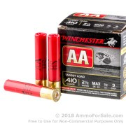 250 Rounds of 1/2 ounce #9 shot .410 Ammo by Winchester