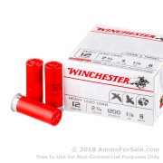 100 Rounds of 1 1/8 ounce #8 shot 12ga Ammo by Winchester