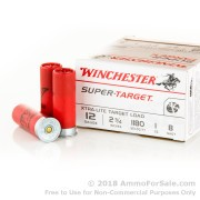 250 Rounds of 1 ounce #8 shot 12ga Ammo by Winchester