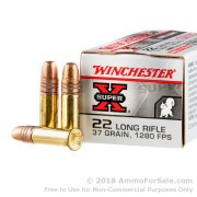 500  Rounds of 37gr CPHP .22 LR Ammo by Winchester