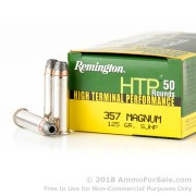 50 Rounds of 125gr SJHP .357 Mag Ammo by Remington