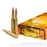 20 Rounds of 150gr Fusion .270 Win Ammo by Federal Fusion
