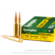 20 Rounds of 140gr PSP 7x57mm Mauser Ammo by Remington