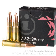 720 Rounds of 123gr FMJ 7.62x39 Ammo by Igman