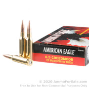 20 Rounds of 120gr OTM 6.5 Creedmoor Ammo by Federal