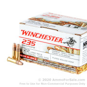 235 Rounds of 36gr CPHP .22 LR Ammo by Winchester