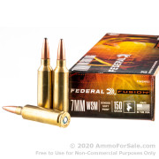 20 Rounds of 150gr Fusion 7mm Win Short Mag Ammo by Federal