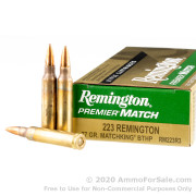 200 Rounds of 77gr HPBT .223 Ammo by Remington