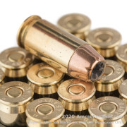 20 Rounds of 230gr JHP .45 ACP Ammo by PMC