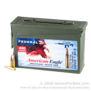 420 Rounds of 55gr FMJBT XM193 5.56x45 Ammo by Federal in Ammo Can