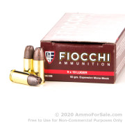 50 Rounds of 92gr EMB 9mm Ammo by Fiocchi