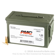 840 Rounds of 55gr FMJBT .223 Ammo by PMC