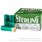 250 Rounds of 1-1/8 ounce #8 shot 12ga Ammo by Sterling