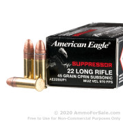 50 Rounds of 45gr CPRN .22 LR Ammo by Federal