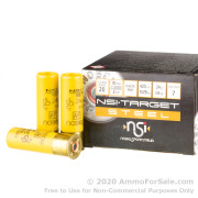 250 Rounds of 7/8 ounce #7 steel shot 20ga Ammo by NobelSport