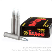 20 Rounds of 55gr HP .223 Ammo by Tula