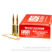 200 Rounds of 125gr OT 6.5 Creedmoor Ammo by Winchester