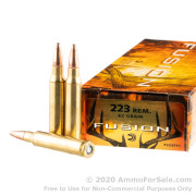 200 Rounds of 62gr Fusion .223 Ammo by Federal Fusion