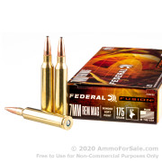 20 Rounds of 175gr Fusion 7mm Rem Mag Ammo by Federal