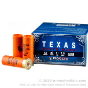 250 Rounds of 1 1/8 ounce #7 1/2 shot 12ga Ammo by Fiocchi