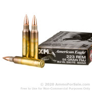 20 Rounds of 55gr FMJBT .223 Ammo by Federal