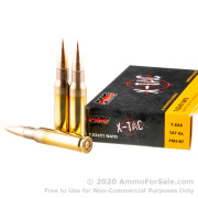 500  Rounds of 147gr FMJBT 7.62x51mm Ammo by PMC X-TAC