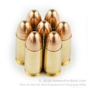 50 Rounds of 115gr FMJ 9mm Ammo by Aguila