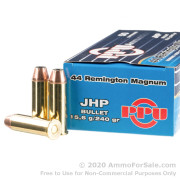 50 Rounds of 240gr JHP .44 Mag Ammo by Prvi Partizan