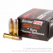 20 Rounds of 110gr Frangible HP .38 Spl Ammo by SinterFire Special Duty