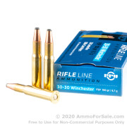 200 Rounds of 150gr FSP 30-30 Win Ammo by Prvi Partizan