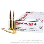 20 Rounds of 125gr Open Tip 6.5 Creedmoor Ammo by Winchester