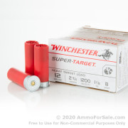 250 Rounds of  #8 shot 12ga Ammo by Winchester Super Target