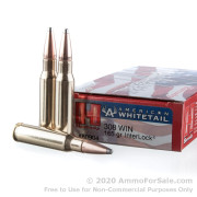 20 Rounds of 165gr InterLock SP .308 Win Ammo by Hornady American Whitetail
