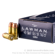 50 Rounds of 165gr TMJ .40 S&W Ammo by Speer