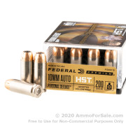 20 Rounds of 200gr HST JHP 10mm Ammo by Federal