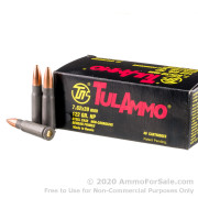 40 Rounds of 122gr HP 7.62x39mm Ammo by Tula