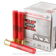 250 Rounds of  #6 shot .410 Ammo by Winchester