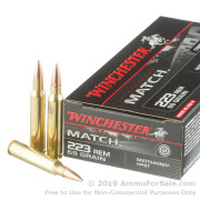 20 Rounds of 69gr HPBT .223 Ammo by Winchester