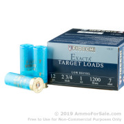 25 Rounds of 1 ounce #7 Shot (Steel) 12ga Ammo by Fiocchi