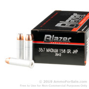 1000 Rounds of 158gr JHP .357 Mag Ammo by CCI