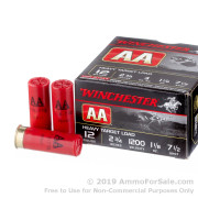 25 Rounds of 1 1/8 ounce #7 1/2 shot 12ga Ammo by WinchesterAA