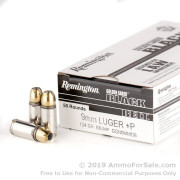 500  Rounds of 124gr JHP 9mm Ammo by Remington Golden Saber Black Belt