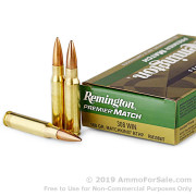 20 Rounds of 168gr HPBT .308 Win Ammo by Remington