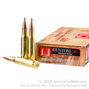 20 Rounds of 125gr SST .308 Win Ammo by Hornady