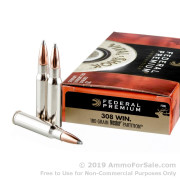 20 Rounds of 180gr Partition .308 Win Ammo by Federal Vital-Shok