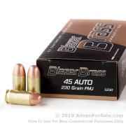 50 Rounds of 230gr FMJ .45 ACP Ammo by Blazer