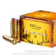 20 Rounds of 158gr Fusion .357 Mag Ammo by Federal